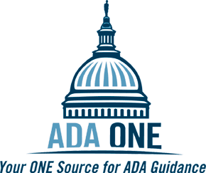 ADA One, LLC - Your ONE Source for ADA Guidance